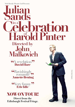 Julian Sands in a Celebration of Harold Pinter
